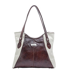 Kabelky - My Style - Wine / Cream Leather - 8154290_