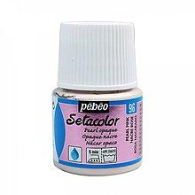 Farby-laky - Farba na textil Pébéo, Setacolor opaque, 96 pearl pink - 8153392_