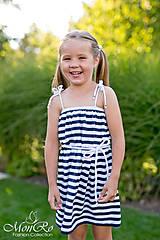 Šaty - Dievčenské šatky - 8153215_