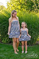 Šaty - Dievčenské šatky - 8153218_