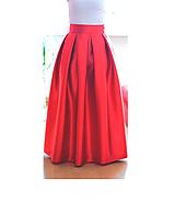 - Maxi saténová sukňa  (obvod pásu od 81-90cm) - 8155240_