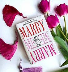 Kabelky - Svatební kabelka v podobě knihy Marry Me! - 8155199_