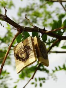 Náušnice - Krása zo srdca - 8154829_