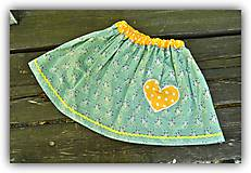 Detské oblečenie - Pískacia sukňa - 8155694_