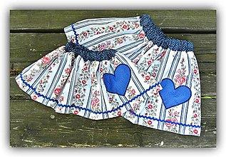 Detské oblečenie - Pískacia sukňa - 8155683_