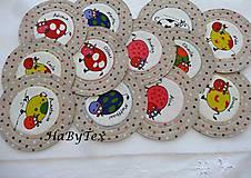 Úžitkový textil - Podložky kravičky - 8153975_