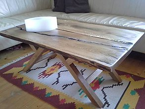 Nábytok - konferencny stolik dub - 8154612_