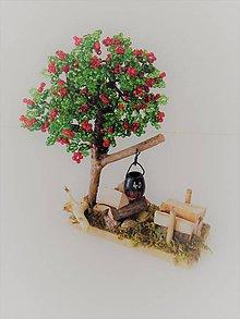 Dekorácie - Stromček šťastia s ohniskom - 8159243_