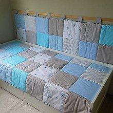 Úžitkový textil - Komplet Šedo-Modrý - 8158248_