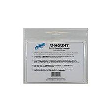 Pomôcky/Nástroje - Samolepiaca penová podložka na gumené razítka A5 - 8157538_