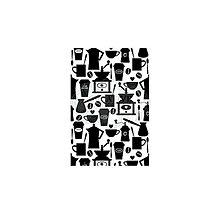 Pomôcky/Nástroje - Gumené razítko Pozadie - Cafe Au Lait A6 - 8157611_