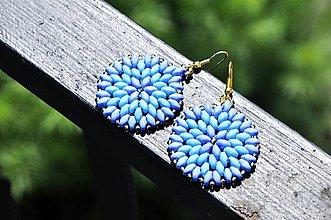 Sarah soutache - modré náušnice   Cukorpalantak - SAShE.sk ... 7904f64412b
