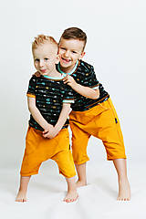 Detské oblečenie - Pudlové šortky - 8158421_