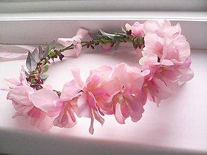 """Ozdoby do vlasov - Kvetinový venček do vlasov """"...tvoja jemná vôňa..."""" - 8156153_"""