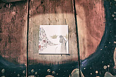 Leporelo 13x13 s autorskou ilustráciou ,,Severské poviedky,,