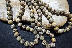 Minerály - Jaspis leopardia koža III 10mm - 8158492_
