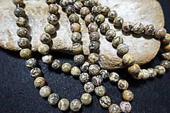 Minerály - Jaspis leopardia koža III 10mm - 8158493_