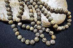 Minerály - Jaspis leopardia koža III 10mm - 8158494_