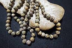 Minerály - Jaspis leopardia koža III 10mm - 8158496_