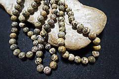 Minerály - Jaspis leopardia koža III 10mm - 8158497_