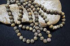 Minerály - Jaspis leopardia koža III 10mm - 8158498_
