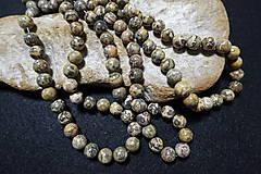 Minerály - Jaspis leopardia koža III 10mm - 8158499_