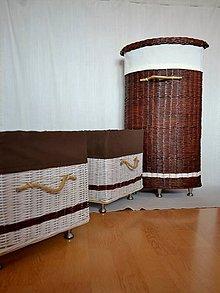 Košíky - Do kúpeľne VIERKA / sada - 8157386_