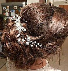 Ozdoby do vlasov - Svadobný venček  - 8156465_