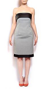 Šaty - Puzdrové šaty - 8161926_