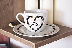 Nádoby - Šálka na kávu - tu kávičku 2 - 8160834_