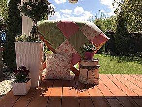 Úžitkový textil - Prehoz na posteľ s letným motívom - 8160522_