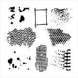 - Šablóna The Crafters Workshop 15,2x15,2cm - Texturized - 8160770_