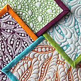 Úžitkový textil - Prostírání barevné - 8160646_