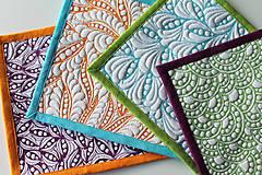 Úžitkový textil - Prostírání barevné - 8160649_
