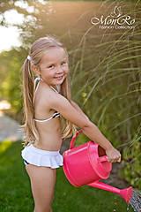 Detské oblečenie - Dievčenské  bavlnené plavečky - 8159568_