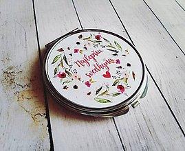 Darčeky pre svadobčanov - Zrkadielko - 8161938_