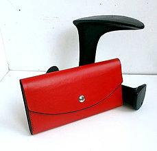 Peňaženky - Kožená peňaženka - Lady Zhŕňajka II - 8159861_