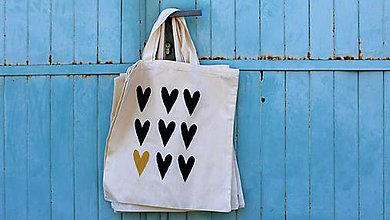 Nákupné tašky - srdcovka II. - 8160095_