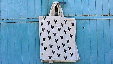 Nákupné tašky - špeci srdcovka - 8160105_