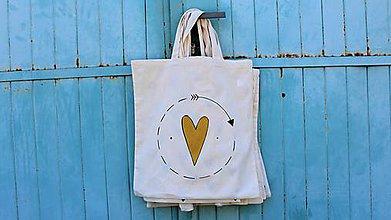 Nákupné tašky - zlatá radosť. - 8160112_