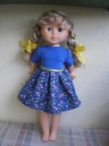 Bábiky - Šaty pre Evičku - 8160494_