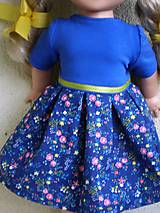Bábiky - Šaty pre Evičku - 8160495_