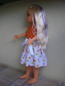 Bábiky - Šaty bez rukávov - 8160578_