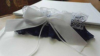 Bielizeň/Plavky - svadobný podväzok - 8161765_