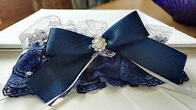 Bielizeň/Plavky - svadobný podväzok - 8161820_