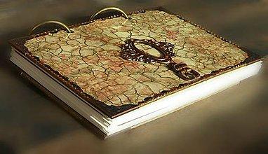 Papiernictvo - Luxusný zápisník,kronika 1 - 8159823_