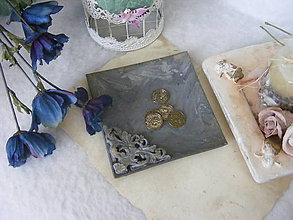 Nádoby - Vintage tanierik ... - 8159595_