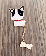 - Brošnička psík s kostičkou - 8160175_