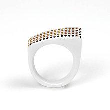 Prstene - Prsteň zlaté bodky / RING RING - gold - 8161891_