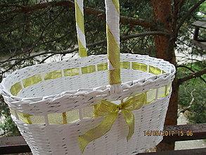 Košíky - Košisko zlatý..:-).. - 8160510_